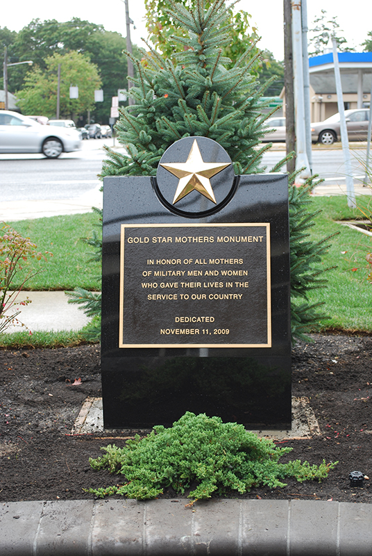 Bronza Plaques - Gold Star