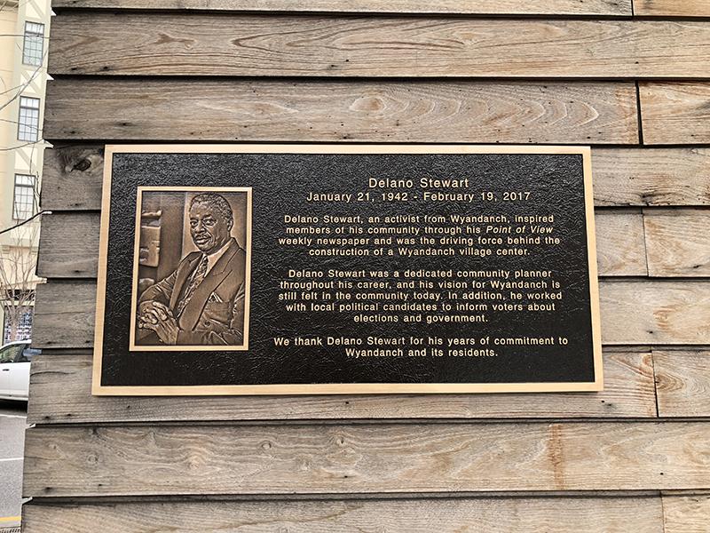 Bronza Plaques - Stewart