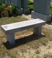 Granite Benches - Zimmerman